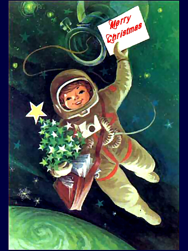Retro Russian Classic ★ Space Greeting Card from the 1960s to.