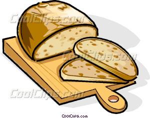 Russian cuisine Russian bread Vector Clip art.