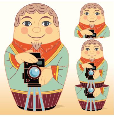 Dolly Camera Clip Art, Vector Images & Illustrations.
