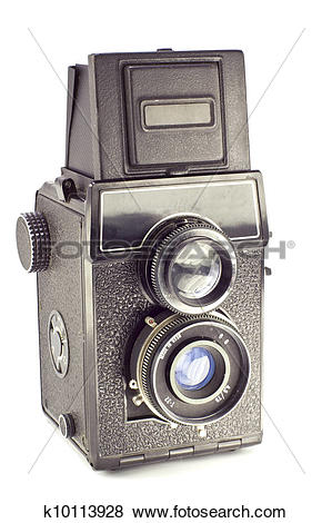 Pictures of Old russian camera vintage medium format film.