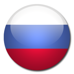 Russia Flag Icon.