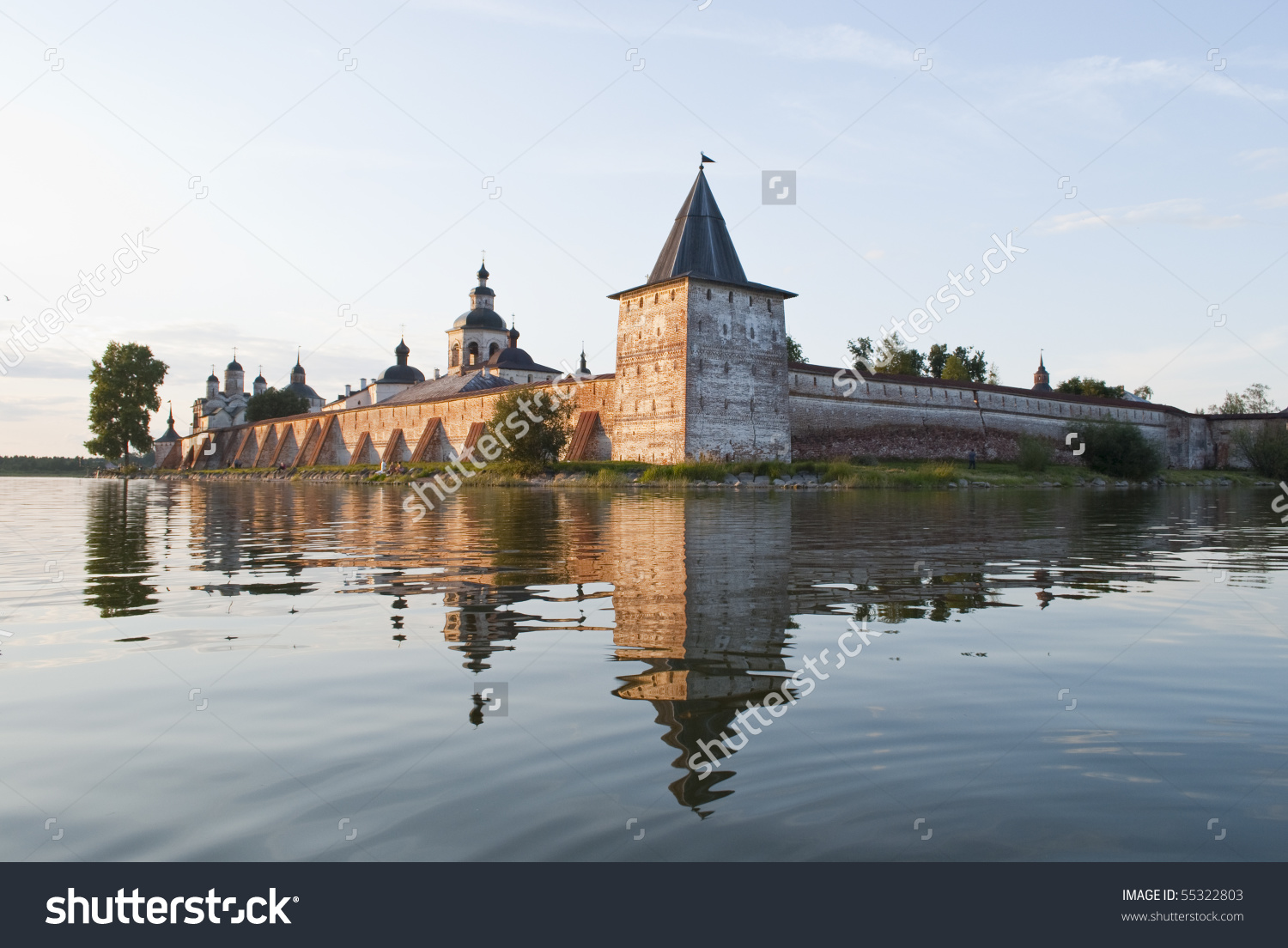 Russian Fortress Stock Photo 55322803.