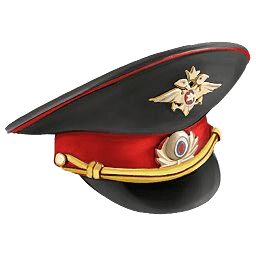 Russian Cop Hat transparent PNG.