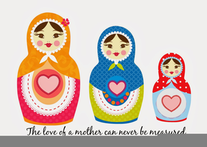 Russian Nesting Doll Clipart.