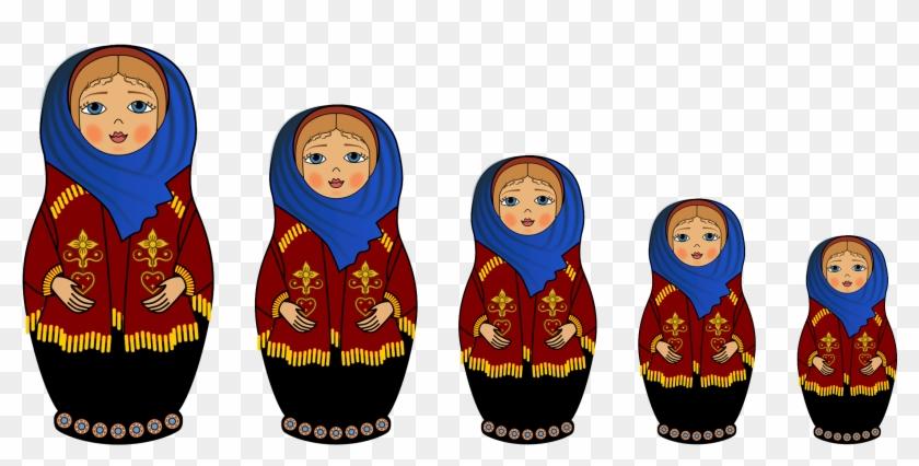 Russian Nesting Dolls.