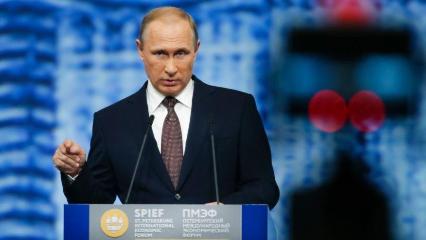 Trump's Russia problem.