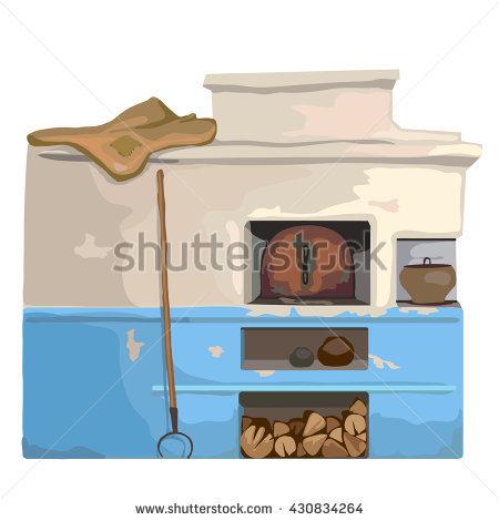 Firewood Oven Stock Photos, Royalty.