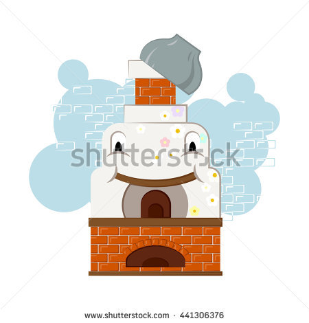 Russian Oven Stock Photos, Royalty.