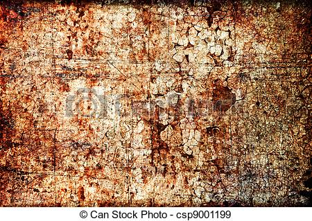 Stock Illustration of Abstract grunge texture: scratches, dirt.