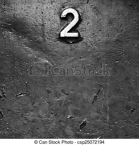 Stock Photographs of Black and white metal with rust stains and.
