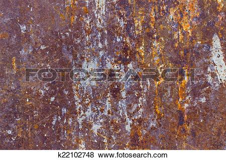 Pictures of Rust stains background k22102748.