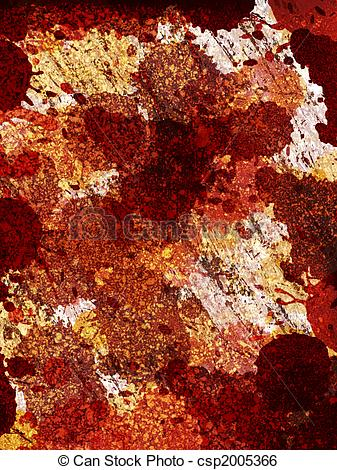 Stock Illustration of Grunge background With rust stains.