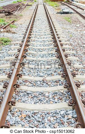 Stock Image of Railroad rust. I also use it as normal. csp15013062.