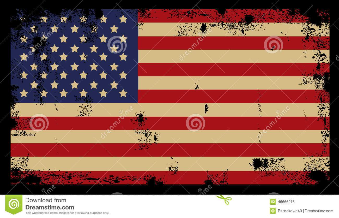 Rustic american flag clipart 5 » Clipart Portal.