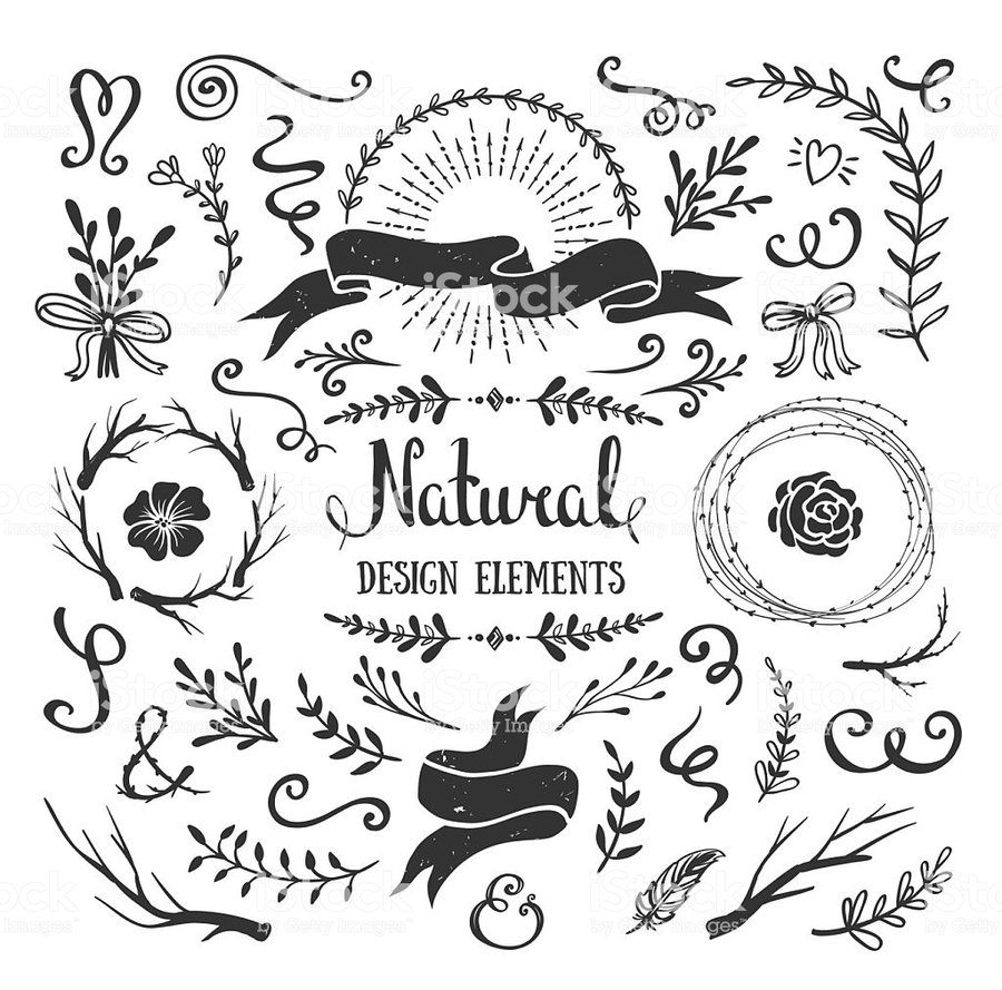 Download rustic banner vector clipart Drawing Clip art.