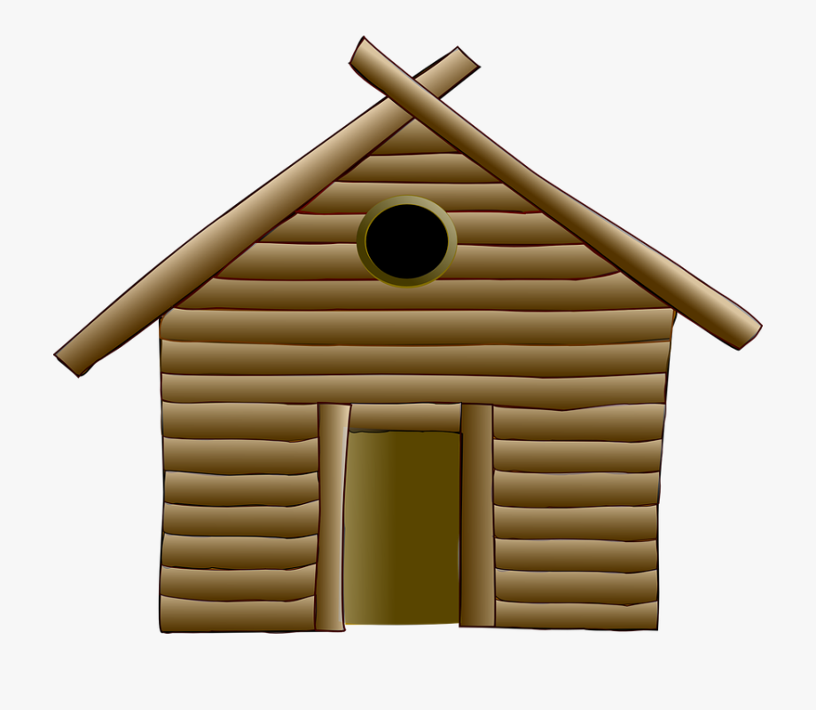 Hut, Log, Cabin, Wood, House, Rustic, Home, Rural,.