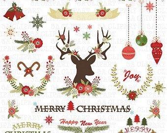 Rustic christmas clipart 2 » Clipart Portal.