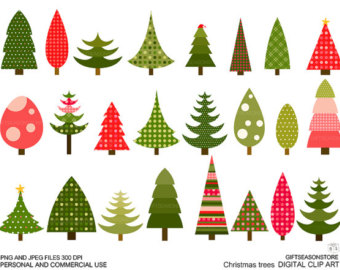 Trees clip art.