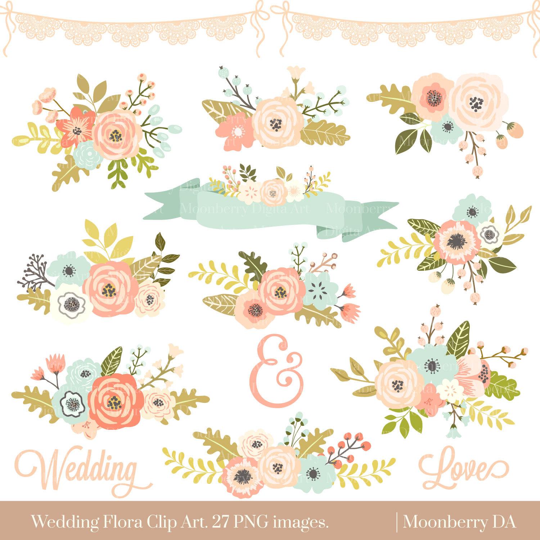 51+ Floral Clipart.