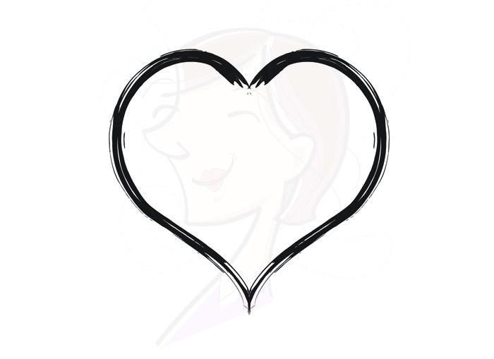Rustic Heart Clipart Png.