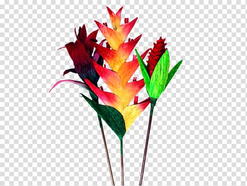 Cut flowers Handicraft Artesanías de Colombia, rustic leaves.