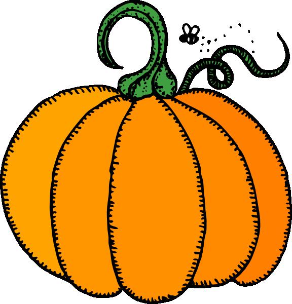 Rustic Pumpkin Clipart.