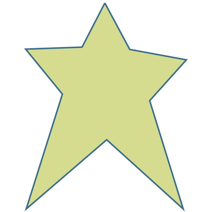 Rustic Star Clipart.