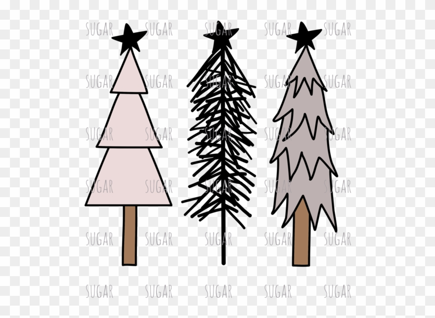 Christmas Tree Rustic Png Clipart (#3253854).