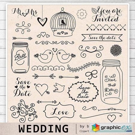 rustic wedding clipart free - Clipground