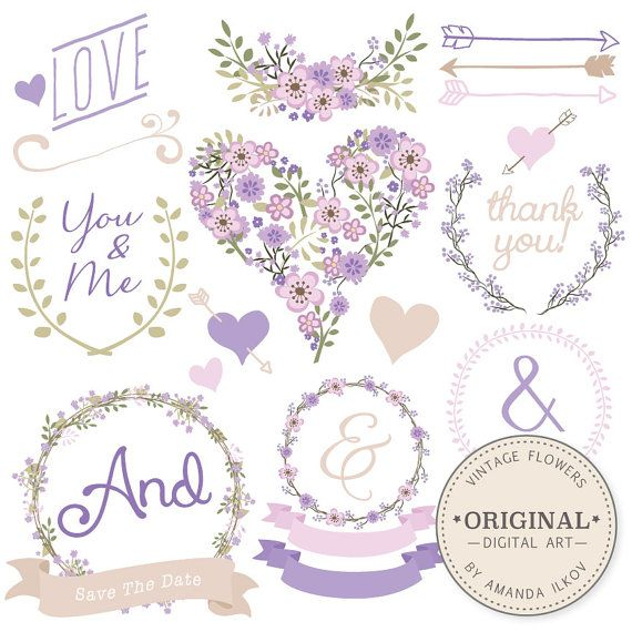 25 Best Ideas About Wedding Clip Art On Pinterest