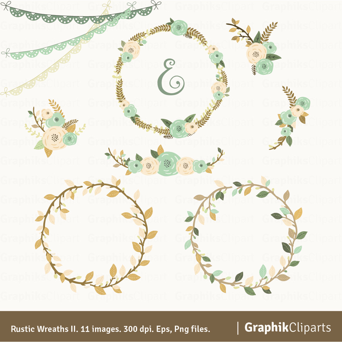 Free Rustic Garland Cliparts, Download Free Clip Art, Free.