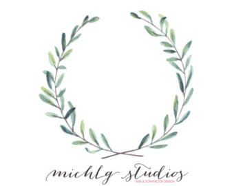 Image result for rustic wreath clipart watercolour.