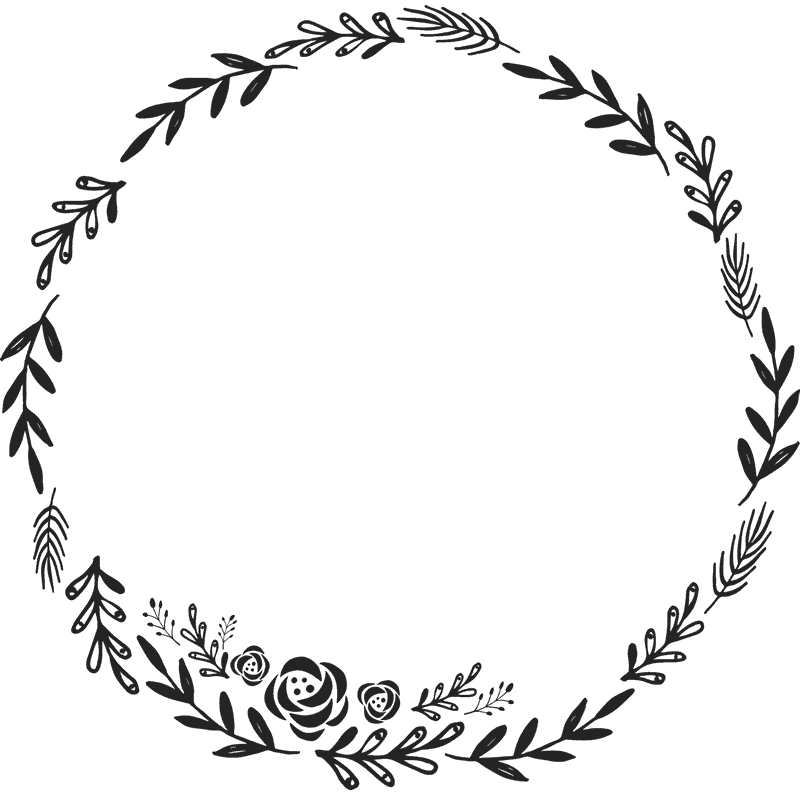 Rustic wreath clipart clipart images gallery for free.