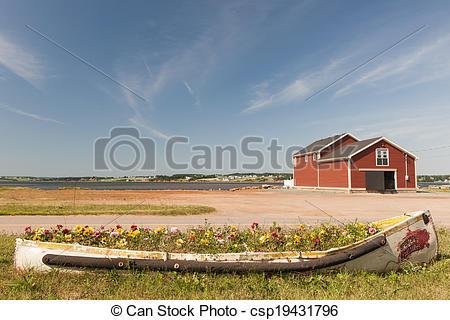 Stock Photographs of North Rustico, Prince Edward Island.