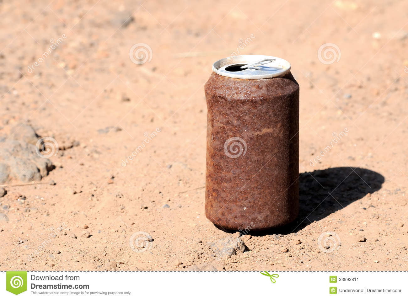Rusty Can Stock Image.