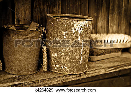Stock Photograph of Vintage objects.
