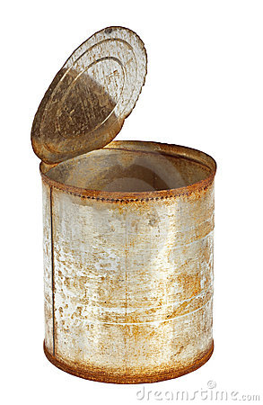 Old Rusty Tin Can Stock Photos, Images, & Pictures.