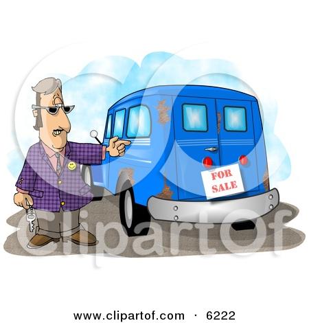 Rusty cars clipart #15