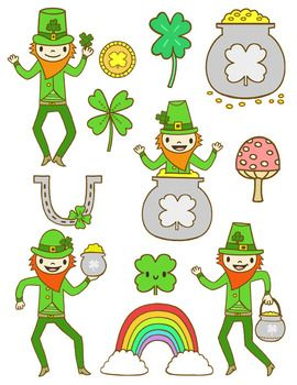 St. Patricks Day Clip Art.