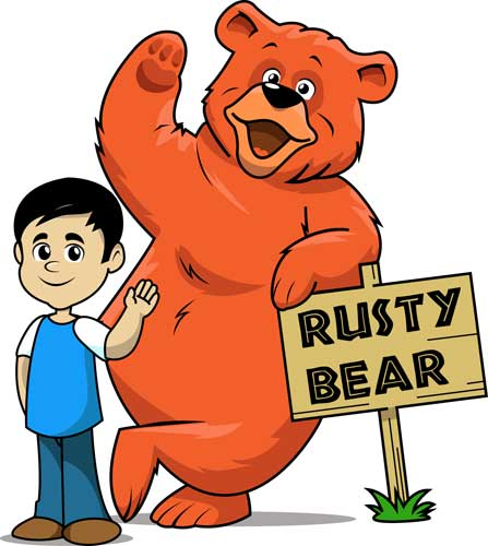 What's with all the Rusty Bear Stuff?.