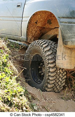 Stock Photography of 4x4 off.