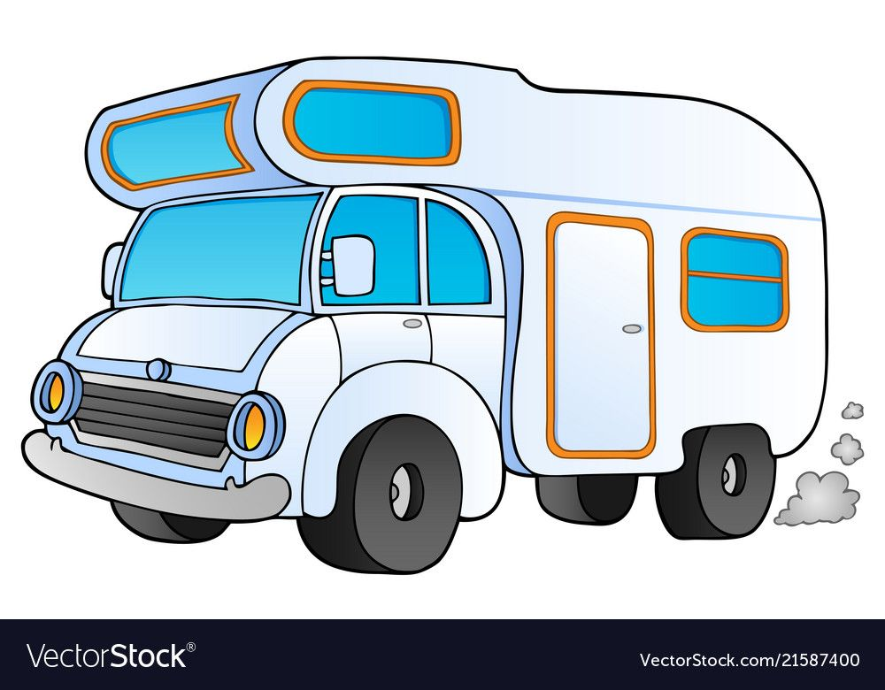 Pin about Motorhome, Camper clipart and Camping images on.