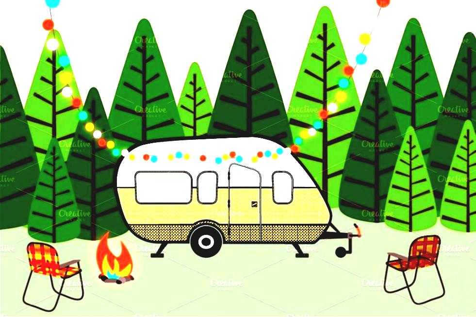 Rv Camping Clipart.