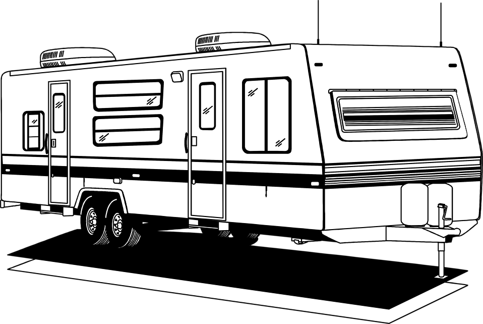 Free Camper Silhouette Cliparts, Download Free Clip Art.