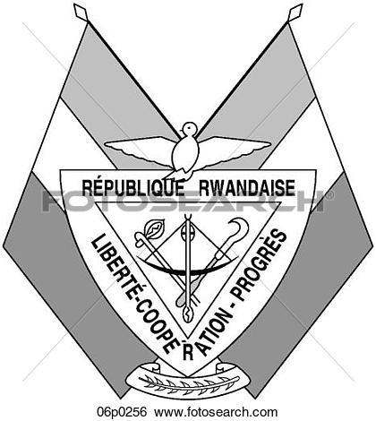 Clip Art of rwanda 06p0256.
