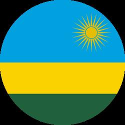 Rwanda flag clipart.