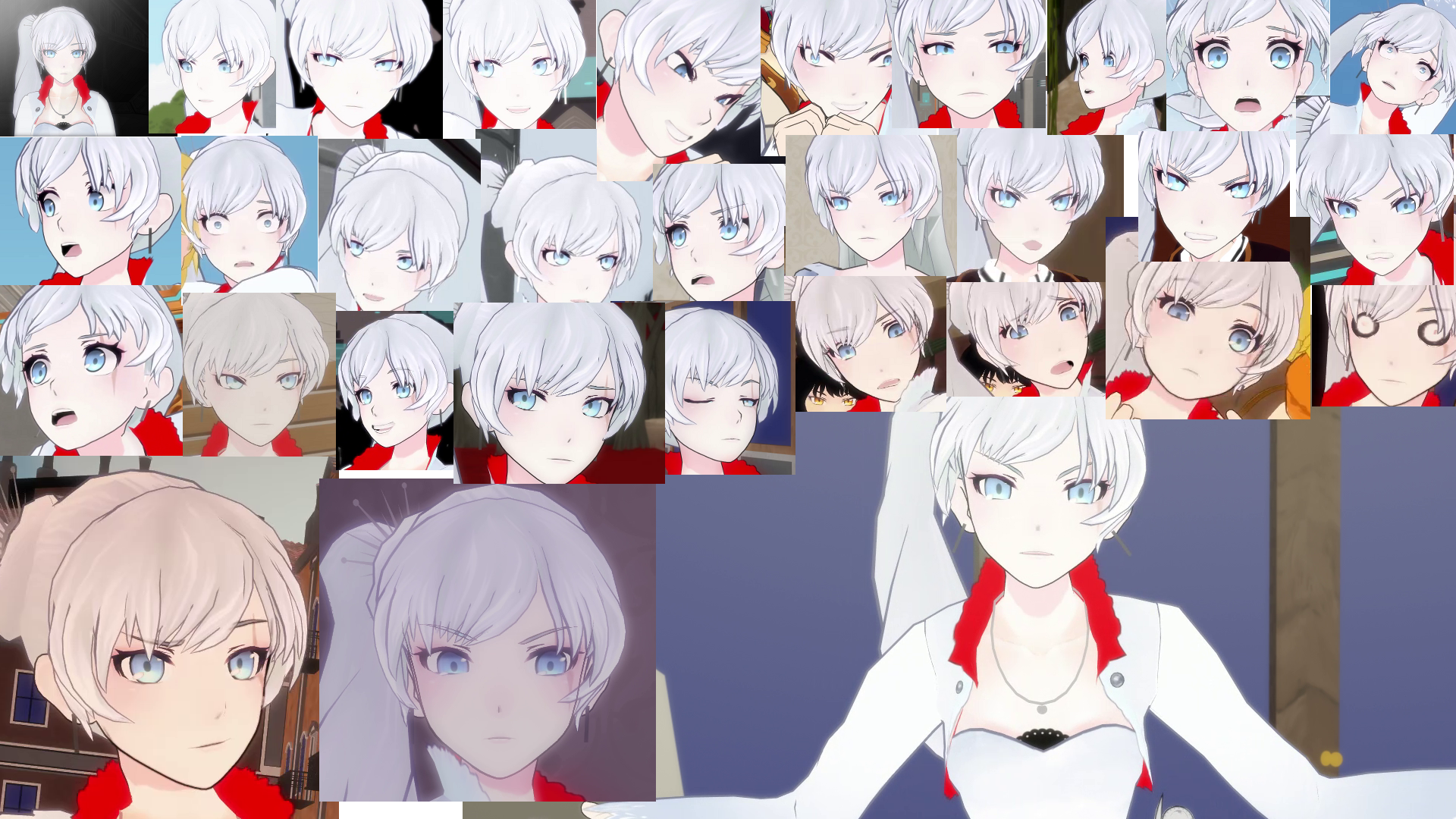 The many faces of Weiss.