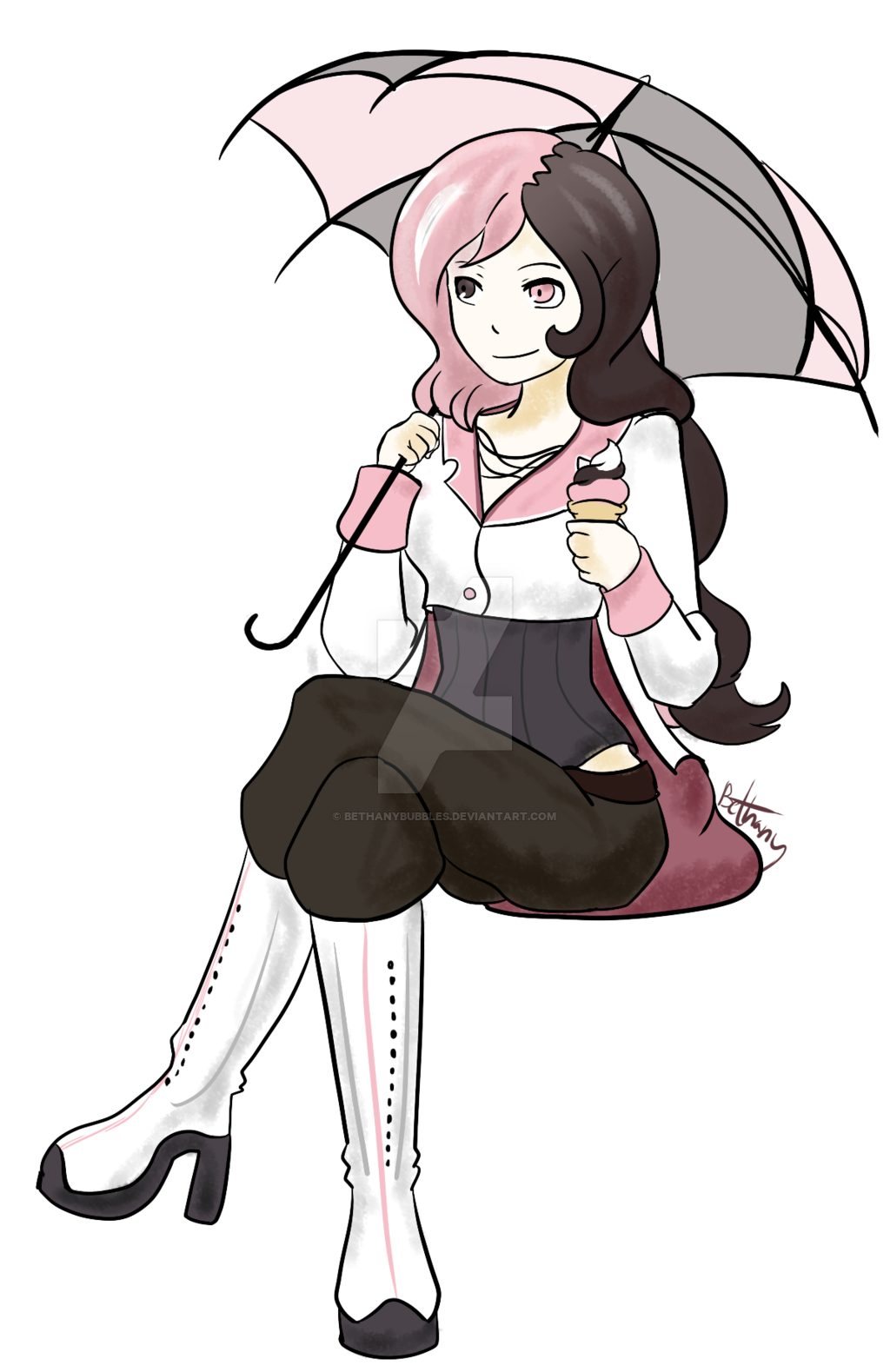 RWBY Neo by BethanyBubbles on DeviantArt.