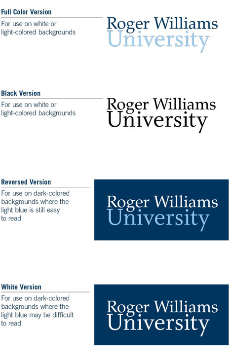 Logo and Guidelines.