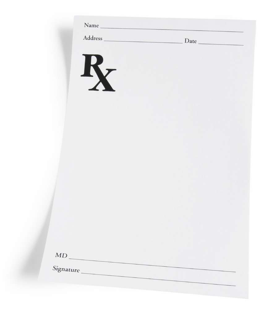 Prescription Template. displaying 20 gt images for blank.